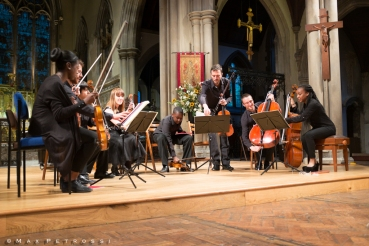 The Heath Quartet & Kuumba Youth Music ©Max Petrossi