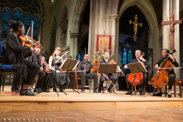 The Heath Quartet & Kuumba Youth Music. ©Max Petrossi
